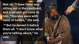 Peter and Servant Girl